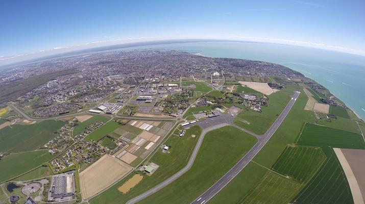 Parachutisme-Le Havre-Saut en parachute tandem entre Etretat et Le Havre-4