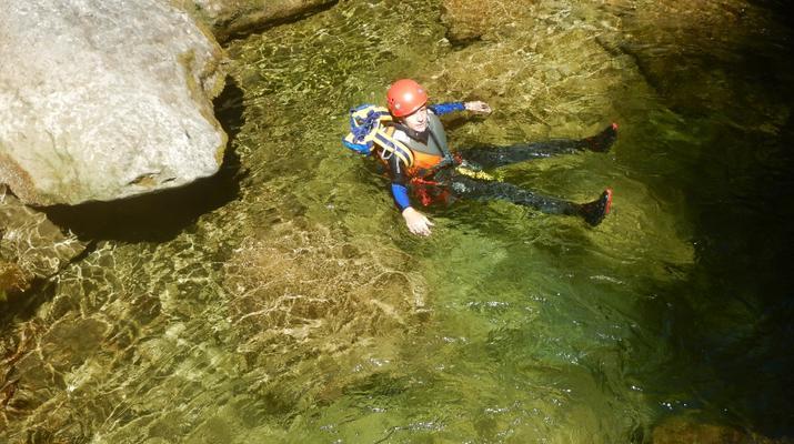 Canyoning-Lake Garda-Rio Nero Canyon near Lake Garda-2