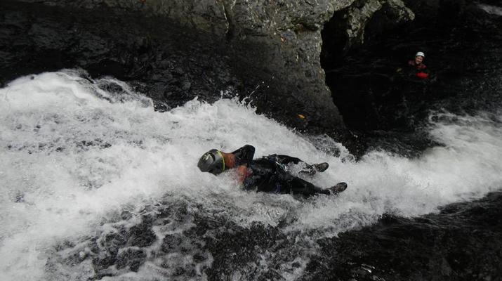 Canyoning-Sainte-Suzanne River-Sainte Suzanne canyon in Reunion Island-6