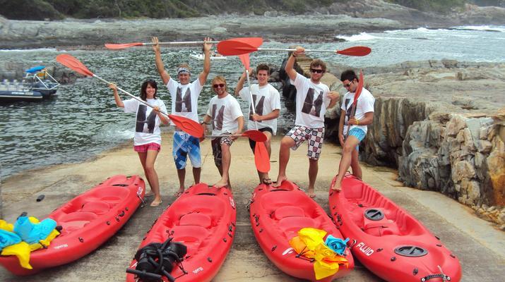 Kayaking-Tsitsikamma National Park-Kayak & Lilo excursion in Storms River in the Tsitsikamma National Park-2