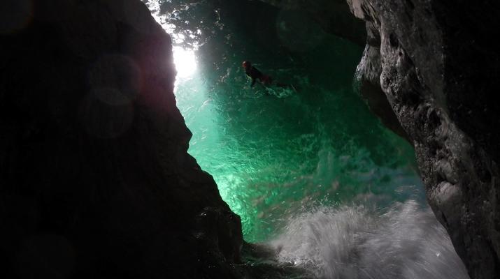 Canyoning-Lake Garda-Rio Nero Canyon near Lake Garda-4