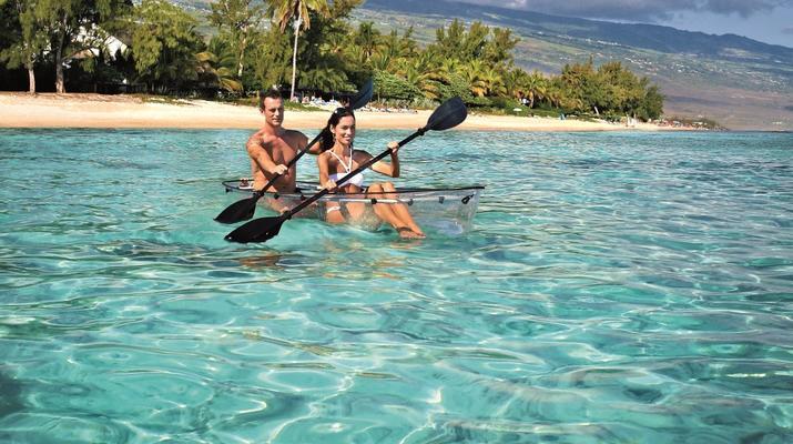 Kayak de mer-Lagon de Saint-Gilles-Balade en Kayak transparent dans le lagon de Saint-Gilles-3