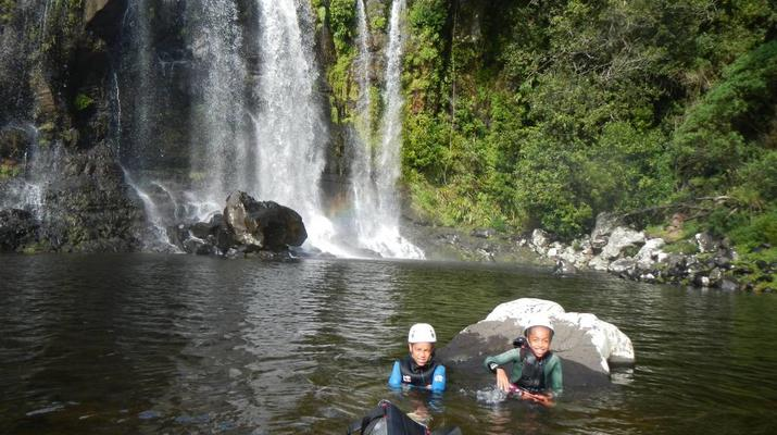 Canyoning-Sainte-Suzanne River-Sainte Suzanne canyon in Reunion Island-3