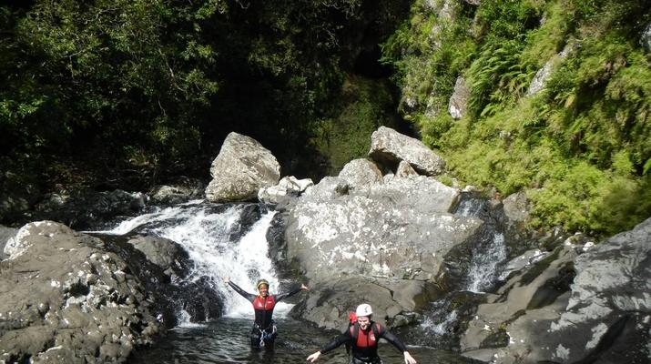 Canyoning-Sainte-Suzanne River-Sainte Suzanne canyon in Reunion Island-2