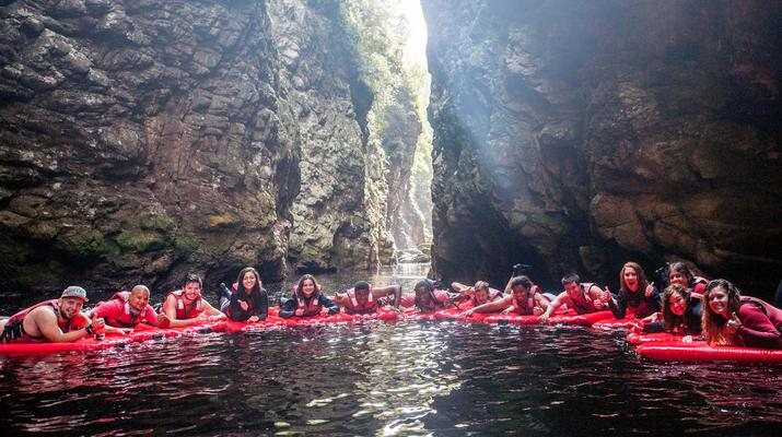 Kayaking-Tsitsikamma National Park-Kayak & Lilo excursion in Storms River in the Tsitsikamma National Park-3