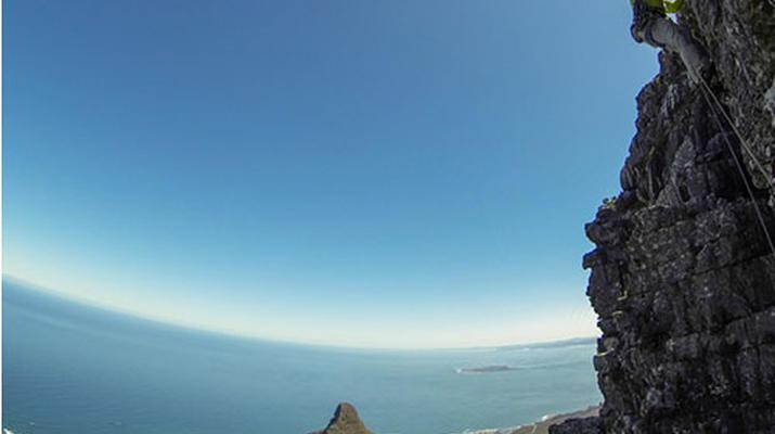 Rock climbing-Cape Town-Rock climbing up Table Mountain-4