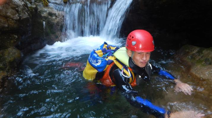 Canyoning-Lake Garda-Rio Nero Canyon near Lake Garda-6