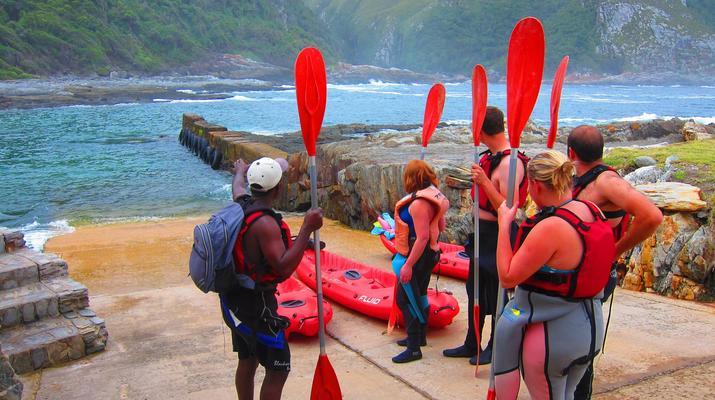 Kayaking-Tsitsikamma National Park-Kayak & Lilo excursion in Storms River in the Tsitsikamma National Park-5