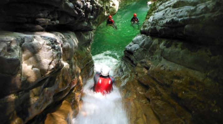 Canyoning-Lake Garda-Palvico Canyon near Lake Garda-3