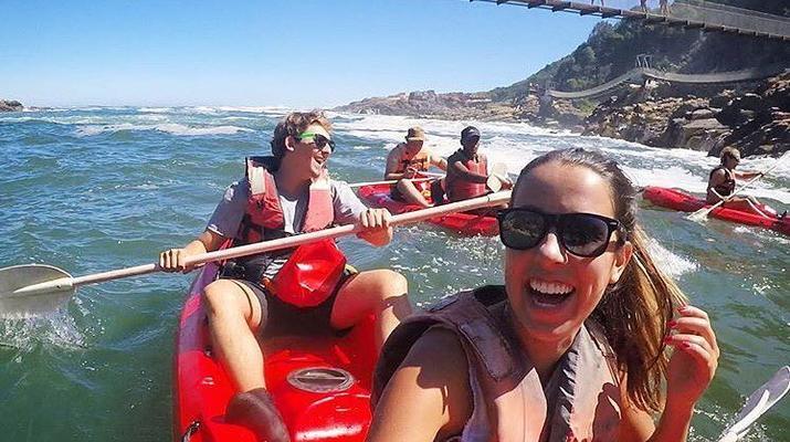 Kayaking-Tsitsikamma National Park-Kayak & Lilo excursion in Storms River in the Tsitsikamma National Park-1