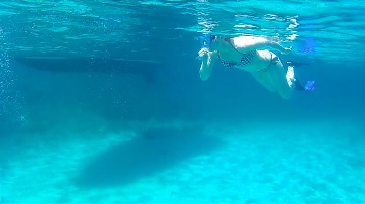 Kayak de mer-Palma, Majorque-Excursion en kayak, plongée en apnée et saut de côte à partir d'Illetas, Majorque-10