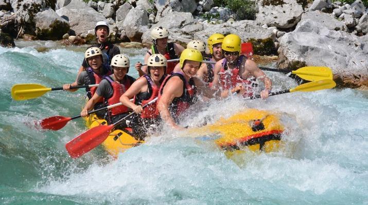 Rafting-Bovec-Rafting down the Soca river in Bovec, Slovenia-6