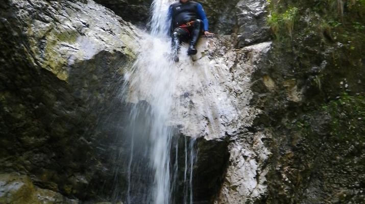 Canyoning-Bovec-Fratarica canyon near Bovec, Slovenia-4