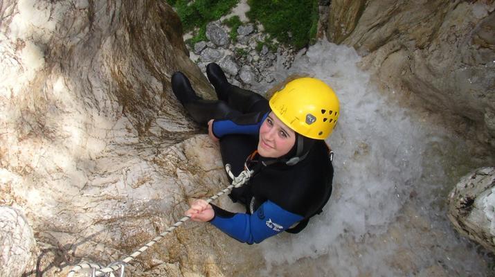 Canyoning-Bovec-Fratarica canyon near Bovec, Slovenia-1