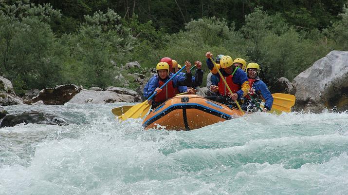 Rafting-Bovec-Rafting down the Soca river in Bovec, Slovenia-5