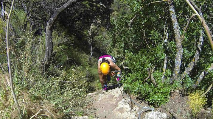 Via Ferrata-Ronda-Via ferrata excursion in Tajo de Ronda, near Marbella-4
