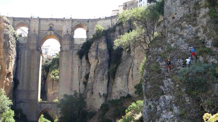 Via Ferrata-Ronda-Via ferrata excursion in Tajo de Ronda, near Marbella-5
