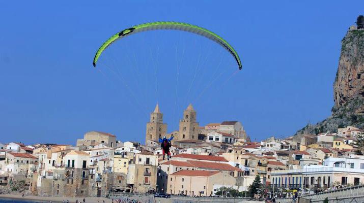 Parapente-Cefalù-Vol en Parapente Biplace au-dessus de Cefalù en Sicile-4