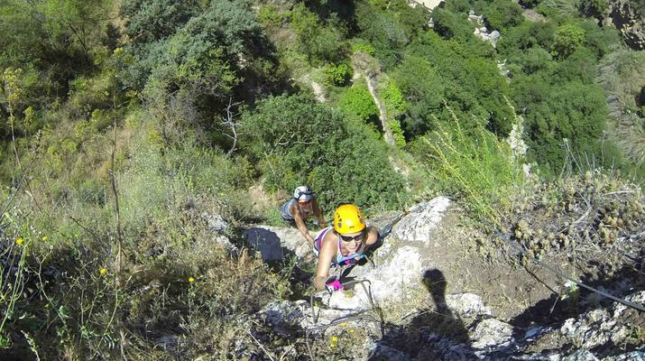 Via Ferrata-Ronda-Via ferrata excursion in Tajo de Ronda, near Marbella-2