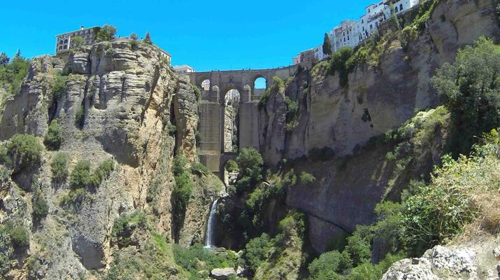 Via Ferrata-Ronda-Via ferrata excursion in Tajo de Ronda, near Marbella-3