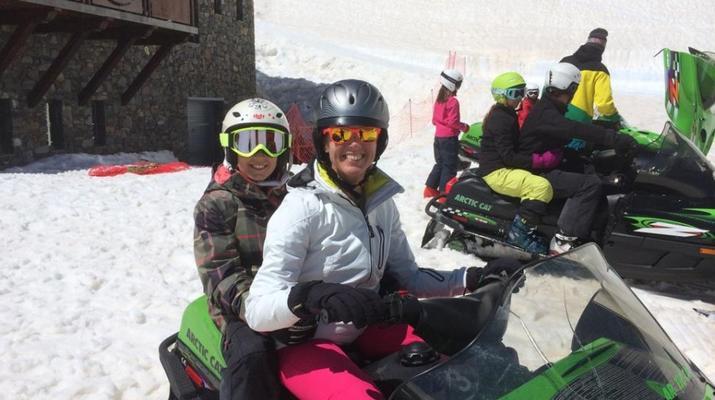 Snowmobiling-Andorra-Snowmobile excursions in Ordino Arcalís, Andorra-5