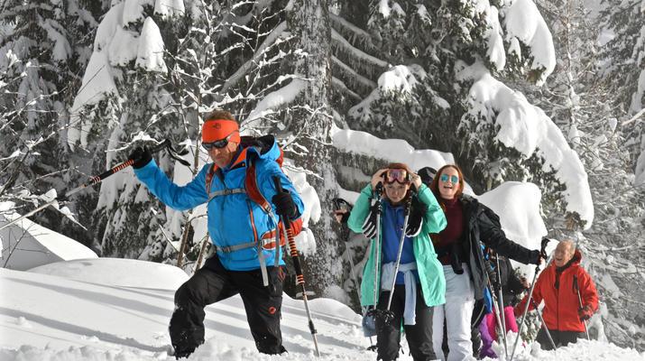 Raquette à Neige-Val d'Isère, Espace Killy-Randonnées Raquettes à Neige à Val d'Isère-5