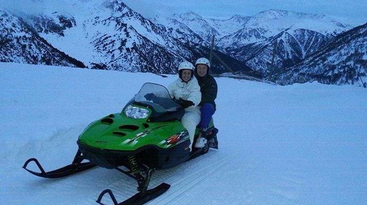 Snowmobiling-Andorra-Snowmobile excursions in Ordino Arcalís, Andorra-2