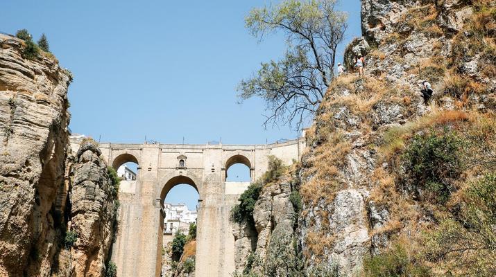 Via Ferrata-Ronda-Via ferrata excursion in Tajo de Ronda, near Marbella-1