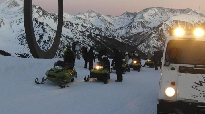 Snowmobiling-Andorra-Snowmobile excursions in Ordino Arcalís, Andorra-7