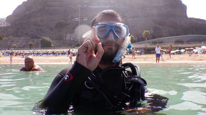 Snorkeling-Amadores, Gran Canaria-Snorkeling excursion in Amadores Beach near Puerto Rico, Gran Canaria-2