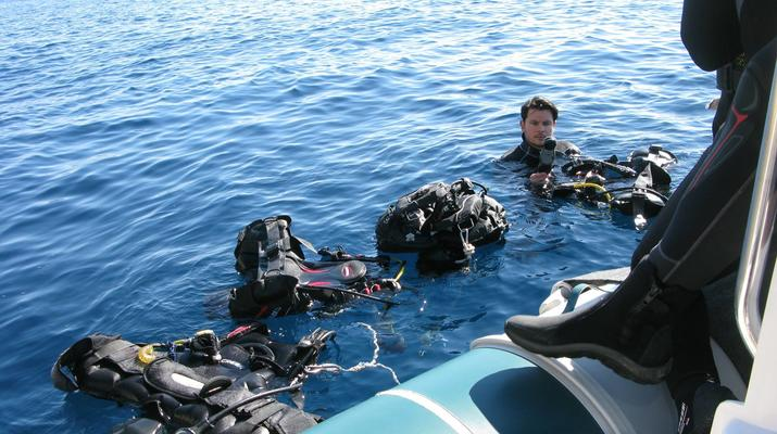 Scuba Diving-Athens-Scuba diving for certified divers in Nea Makri, Athens-6