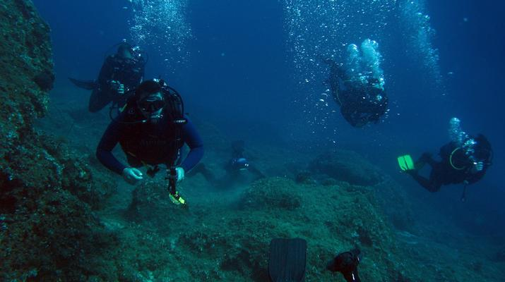 Scuba Diving-Athens-Scuba diving for certified divers in Nea Makri, Athens-4