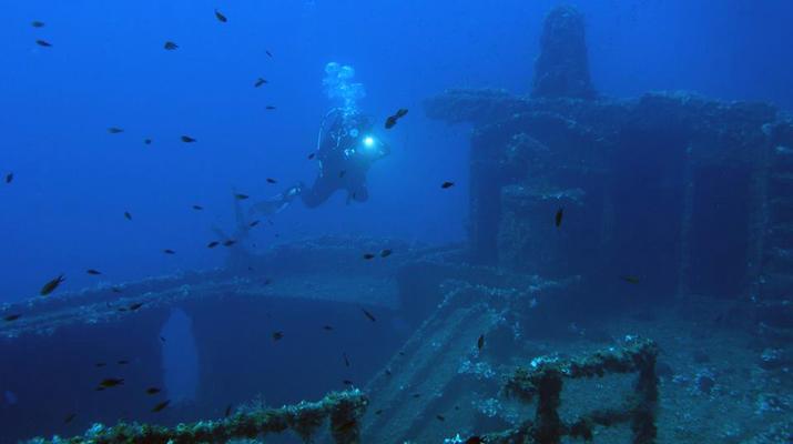 Scuba Diving-Athens-Scuba diving for certified divers in Nea Makri, Athens-3