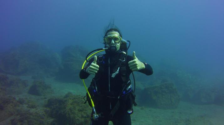 Plongée sous-marine-El Médano, Tenerife-PADI Discover Scuba Diving à Los Abrigos près de El Medano, Tenerife-4