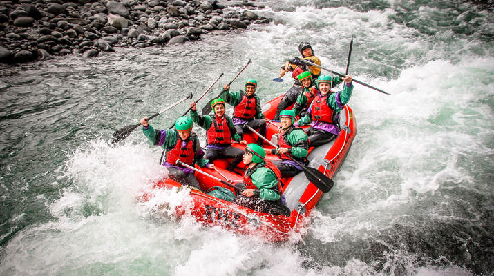 Rafting-Taupo-Rafting down the Tongariro River in Turangi near Taupo-2