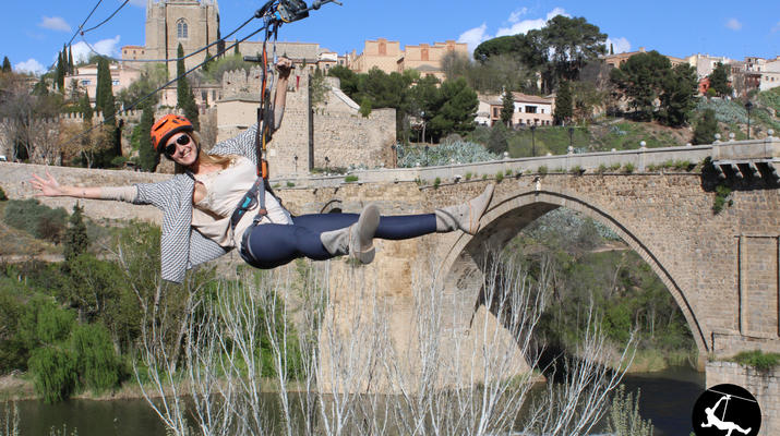 Zip-Lining-Toledo-Urban Zip Line Experience in Toledo near Madrid-4