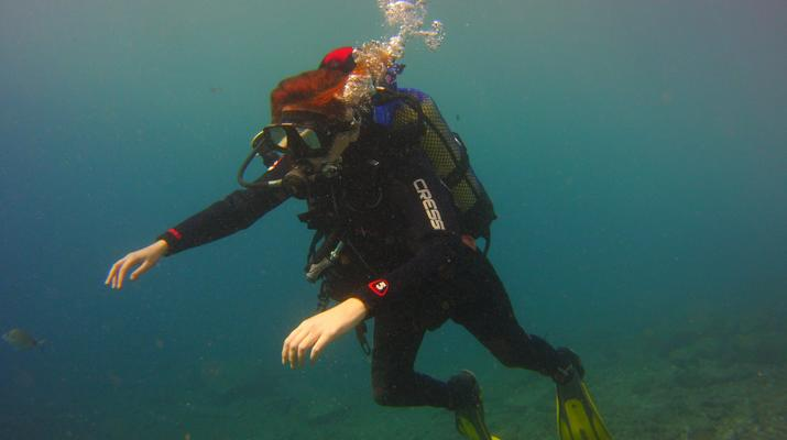 Plongée sous-marine-El Médano, Tenerife-PADI Discover Scuba Diving à Los Abrigos près de El Medano, Tenerife-6