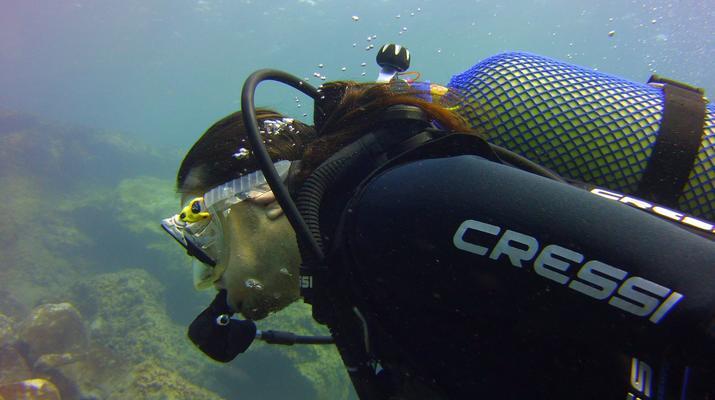 Plongée sous-marine-El Médano, Tenerife-PADI Discover Scuba Diving à Los Abrigos près de El Medano, Tenerife-2