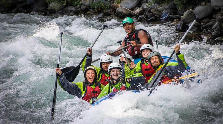 Rafting-Taupo-Rafting down the Tongariro River in Turangi near Taupo-1