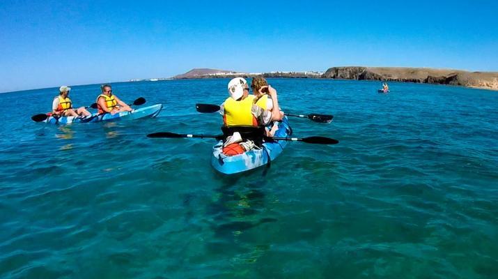 Sea Kayaking-Playa Blanca, Lanzarote-Kayak & Snorkel excursion to Playa Papagayo, Lanzarote-18