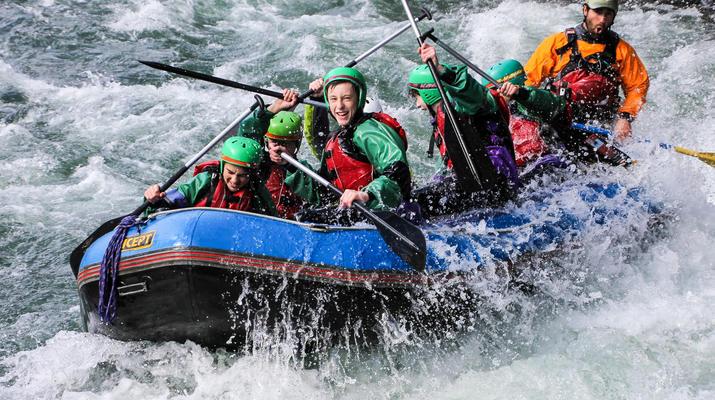 Rafting-Taupo-Rafting down the Tongariro River in Turangi near Taupo-3