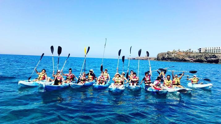 Sea Kayaking-Playa Blanca, Lanzarote-Kayak & Snorkel excursion to Playa Papagayo, Lanzarote-27