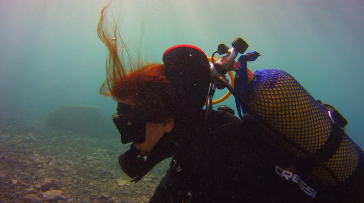 Plongée sous-marine-El Médano, Tenerife-PADI Discover Scuba Diving à Los Abrigos près de El Medano, Tenerife-3