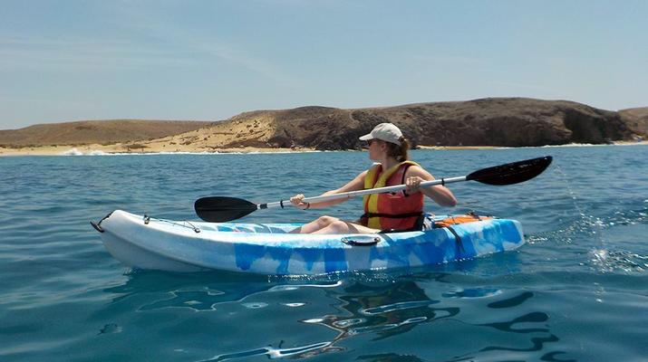 Sea Kayaking-Playa Blanca, Lanzarote-Kayak & Snorkel excursion to Playa Papagayo, Lanzarote-23