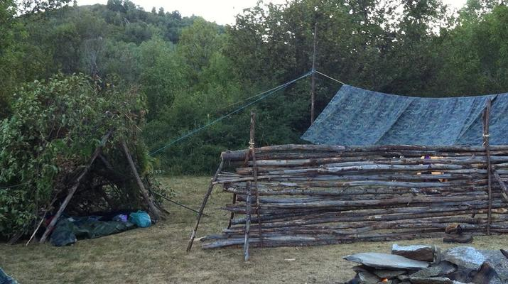 Stage de Survie-Font Romeu-Stage de Survie Bushcraft à Angoustrine-Villeneuve-des-Escaldes, près de Font-Romeu-3