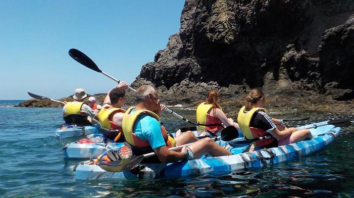 Sea Kayaking-Playa Blanca, Lanzarote-Kayak & Snorkel excursion to Playa Papagayo, Lanzarote-28