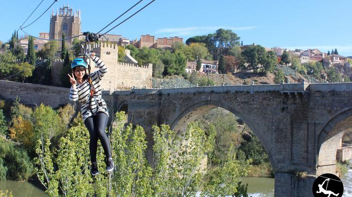 Zip-Lining-Toledo-Urban Zip Line Experience in Toledo near Madrid-2