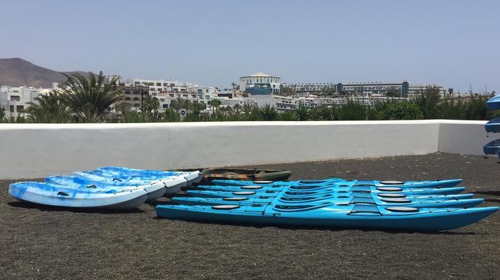 Sea Kayaking-Playa Blanca, Lanzarote-Kayak & Snorkel excursion to Playa Papagayo, Lanzarote-20