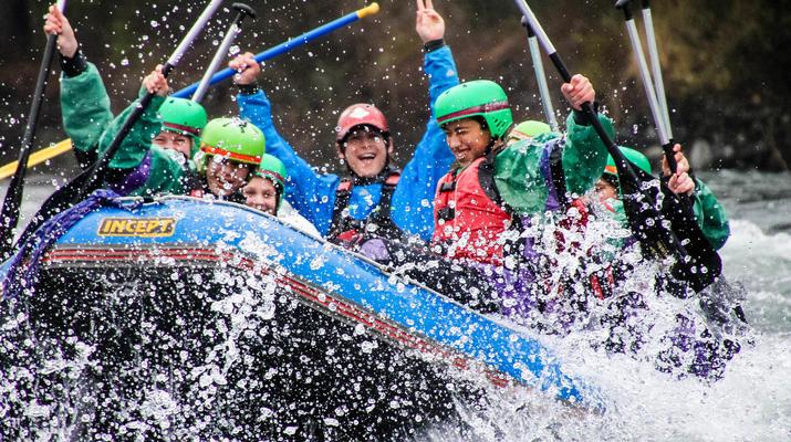 Rafting-Taupo-Rafting down the Tongariro River in Turangi near Taupo-4