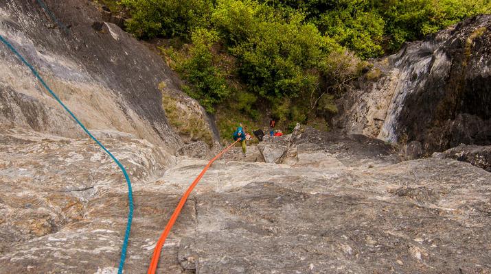 Rápel-Wanaka-Excursión de rappel para principiantes en Wanaka-5